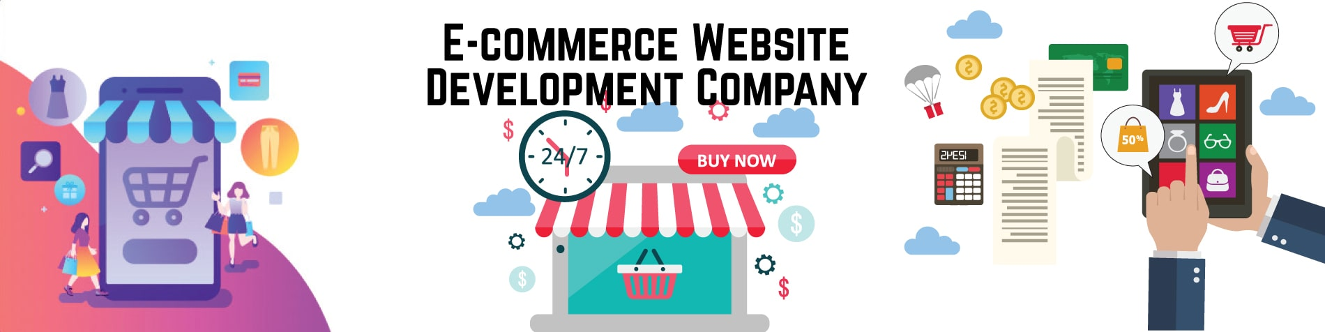 custom ecommerce website development company in Noida